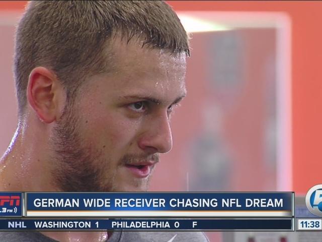 German Star Chasing NFL Draft Dream