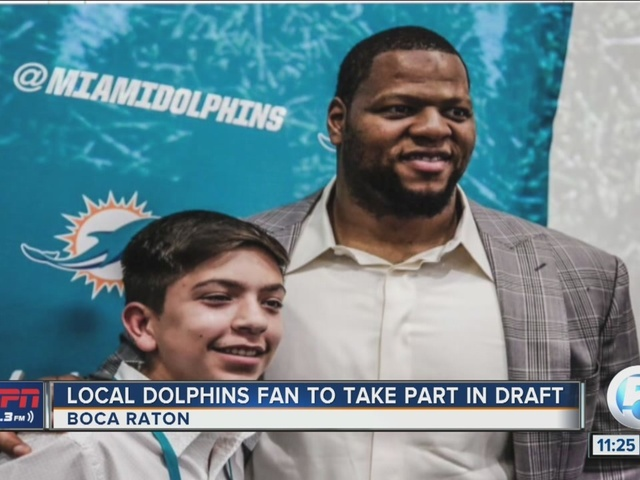 Local Dolphins fan to take part in NFL draft