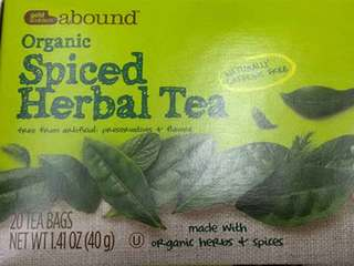 CVS Pharmacy recalls organic spiced herbal tea