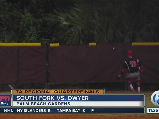 Dwyer baseball advances to regional semis