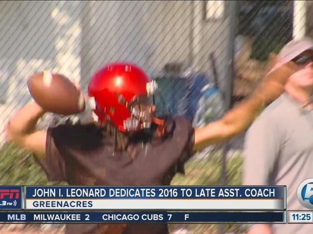Lancers football team dedicates season to late coach