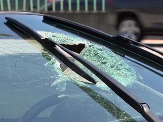 Debris hits driver on I-95 in Boca Raton