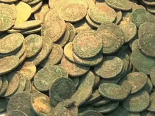 1,300 pounds of ancient Roman coins found in Spain