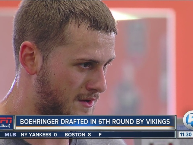 German WR Moritz Boehringer Drafted by Minnesota Vikings