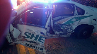 Deputy/motorist injured in crash