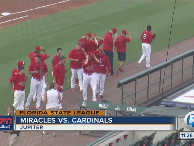 Miracle too much for Cardinals