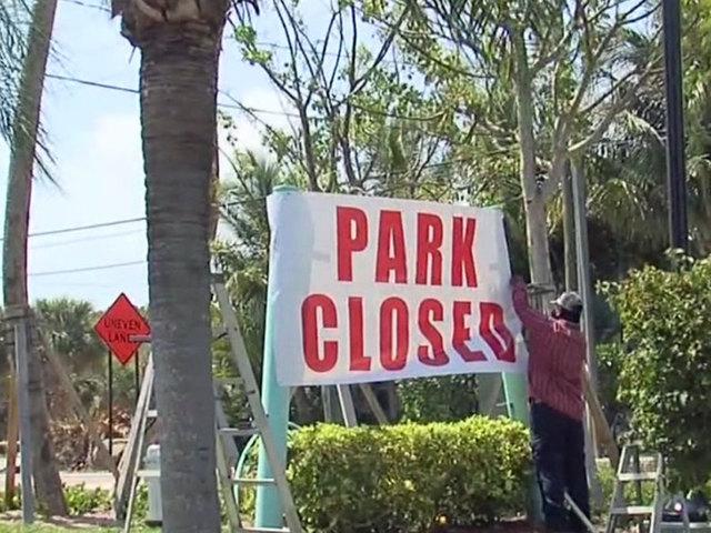 Mobile Home Park Residents Evicted At Jupiters Suni Sands