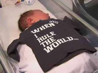 Australian baby weighs in at more than 13 lbs.