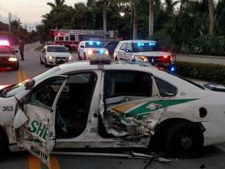 Martin Co. deputy and driver injured in crash