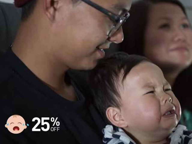 JetBlue gets passengers to love crying babies
