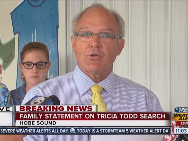 Tricia Todd's family release statement