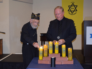 Surivors celebrate Holocaust Remembrance Day