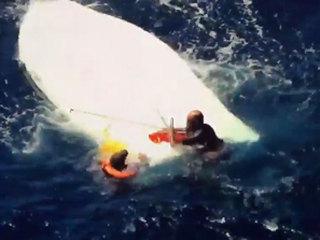 Boat capsizes off Jupiter, 2 rescued