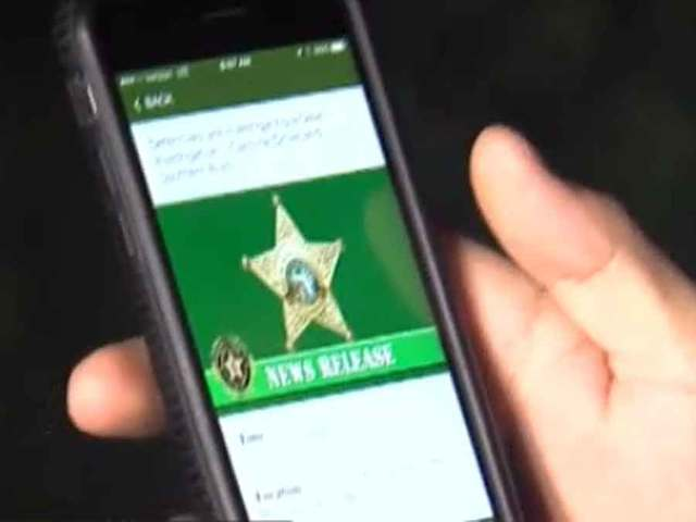 Palm Beach County Sheriff's Office unveiling crime prevention app