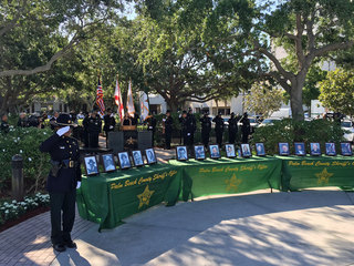 Fallen PBSO deputies honored during memorial