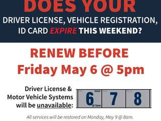 Fla. driver's license system down this weekend
