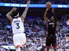 Raptors beat Heat in OT to tie series 1-1