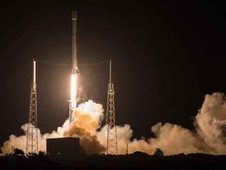 SpaceX lands rocket at sea 2nd time after launch