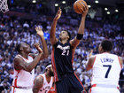 Hassan Whiteside is staying with the Miami Heat