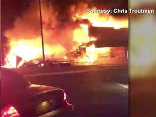 Pahokee fire destroys building near school