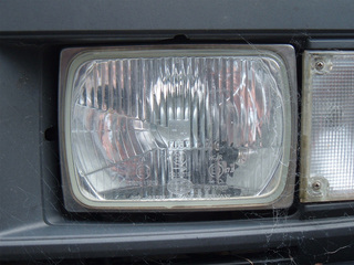 Headlight ratings and crashes in the dark