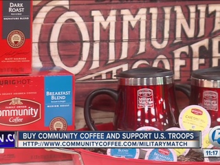 Buy 'Community Coffee' and support U.S. troops