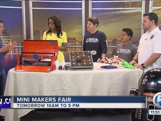 Mini Maker Faire at South Florida Science Center