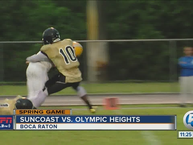 Suncoast@Olympic Heights Spring Game