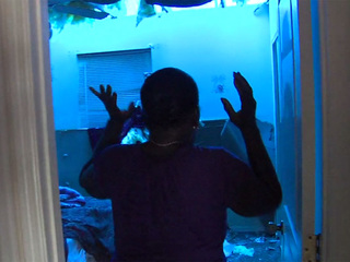 Fort Pierce woman rides out storm in bathroom