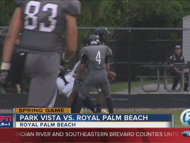 Park Vista wins rained out spring game