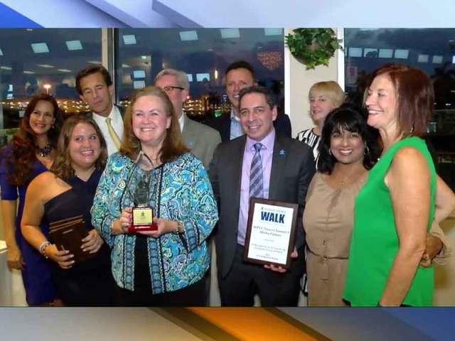 WPTV's Charlene Maville receives award for exemplary service to the…
