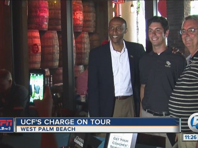 UCF's Charge on Tour