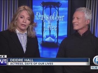 Actress Deidre Hall celebrates long TV career