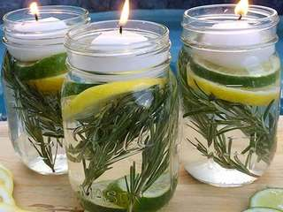 Get rid of mosquitoes with this DIY Mason jar
