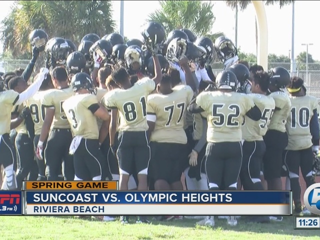 Suncoast tops Olympic Heights in spring game