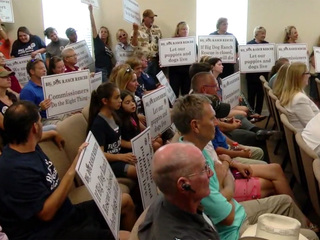 Loxahatchee Groves discussing 'Big Dog' lawsuit