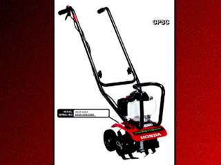 Honda recalls mini tillers