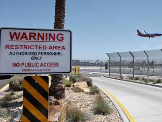 US airport fences breached about every 10 days