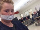 Students silenced with duct tape