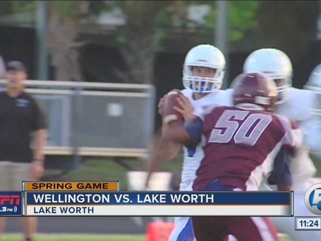 Lake Worth wins spring game