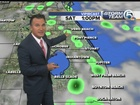 Isolated rain this morning, scattered afternoon