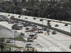 SB  I-95 lanes reopened  in Boca after car fire