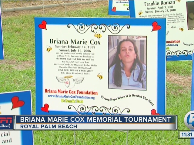 Briana Marie Cox Memorial Fastpitch Softball Tournament
