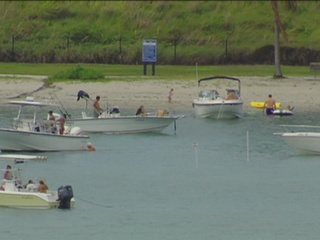 Police ramped up on the water for Memorial Day