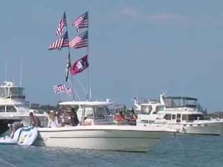 Law enforcement patrol waters on Memorial Day