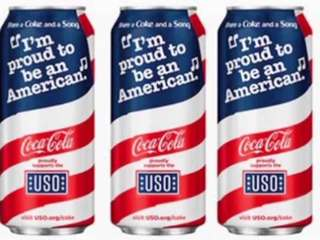 Coke releases 'Proud to be an American' cans