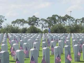18K flags honor vets at South FL Nat'l Cemetery