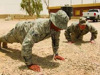 Pushup challenge preventing veteran suicide