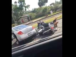 WATCH: Wild Florida hit-and-run caught on video