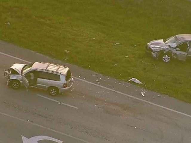 Crash slows traffic on US 441 in West Boca